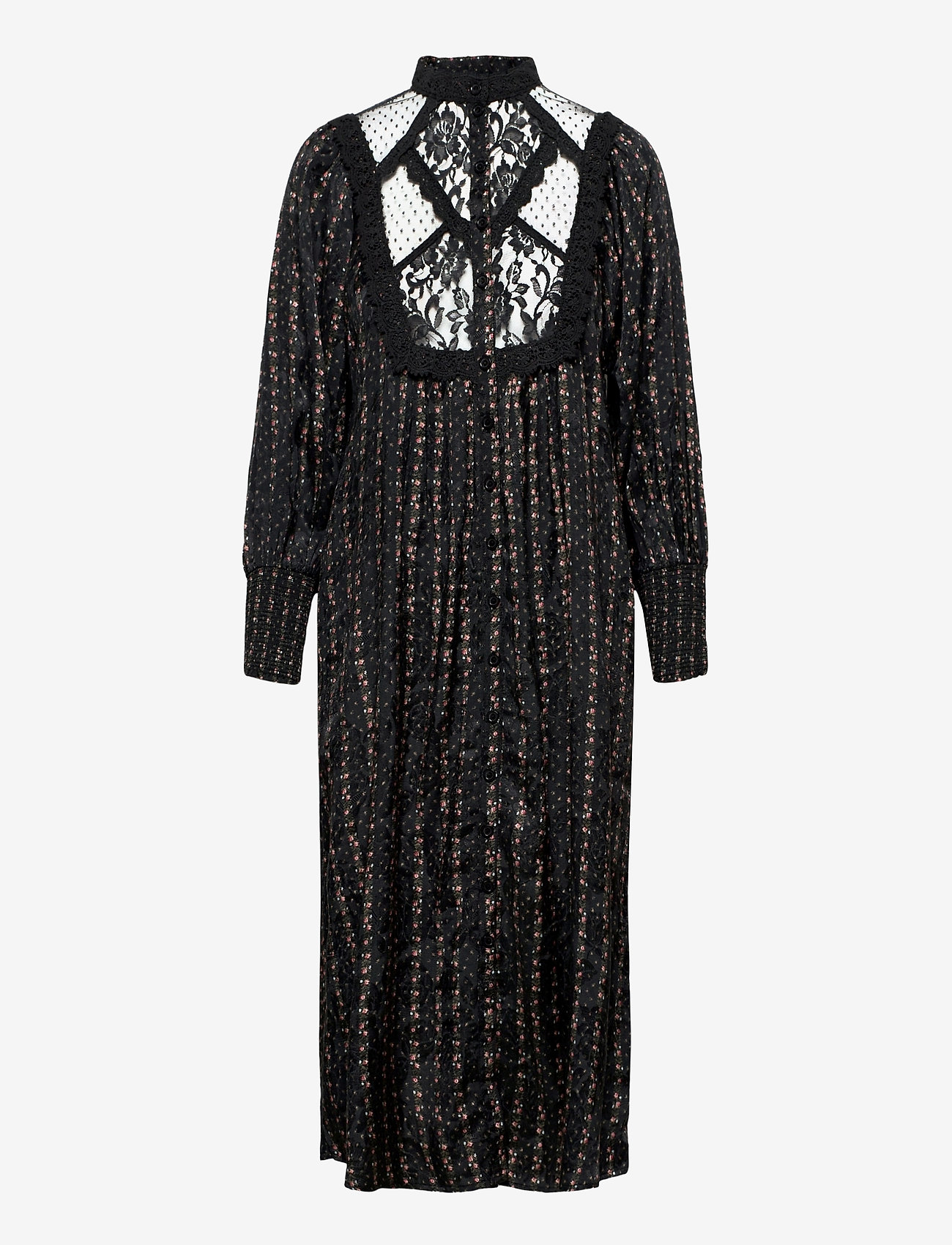 by Ti Mo - Jacquard Lace Shift Dress - sommerkjoler - vintage rose - 0