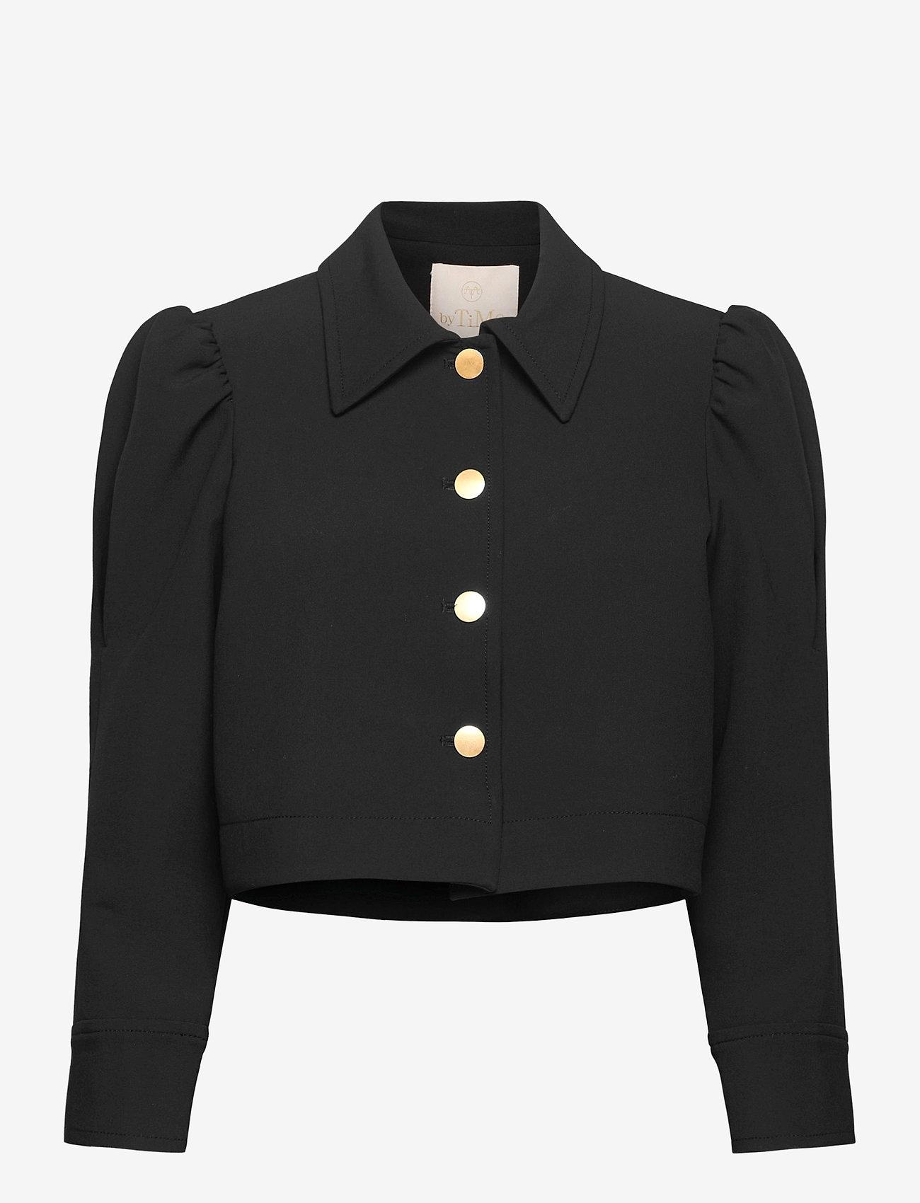 by Ti Mo - Tailored Jacket - lichte jassen - black - 0