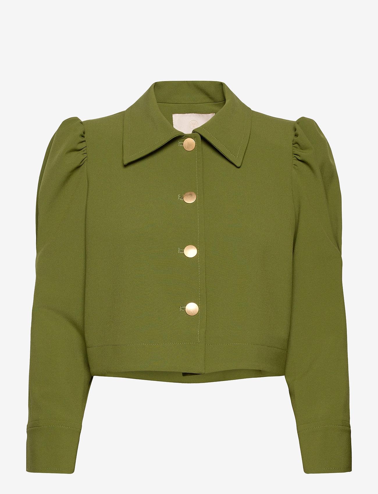 by Ti Mo - Tailored Jacket - lichte jassen - green - 0