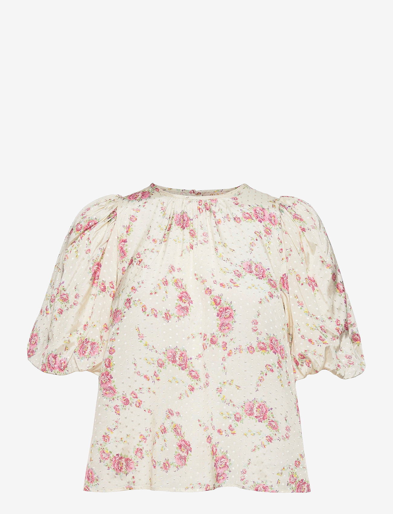by Ti Mo - Delicate Blouse - short-sleeved blouses - daydream - 0
