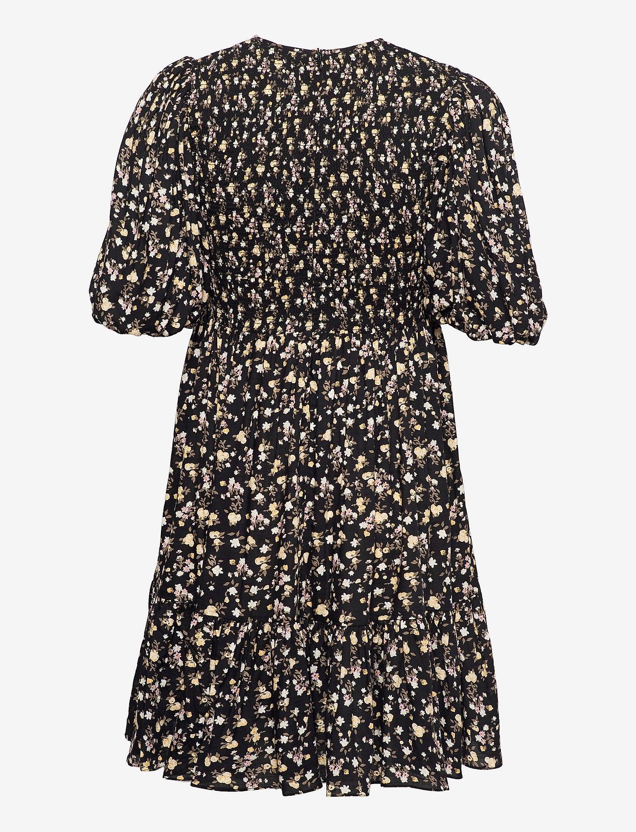 by Ti Mo - Smocking Puffed Mini Dress - sommerkjoler - blossom - 1