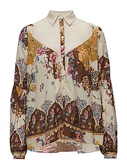 By Ti Mo - Button-Up Blouse - Bohemian