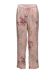 Block Trousers - BLOSSOMS PINK