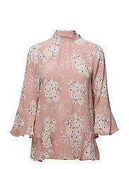 By Ti Mo - Flounce Tie Blouse