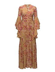 Semi Couture Gown - 389 GOLDEN GARDEN