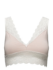 40's Lace Bra - 044 POWDER