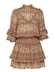 Bohemian Mini Dress - 761 LADIES