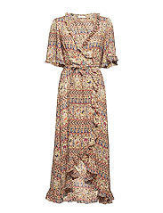 Bohemian Wrap Dress - 761 LADIES