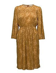 Satin Dress - 769 JACQUARD GOLDEN