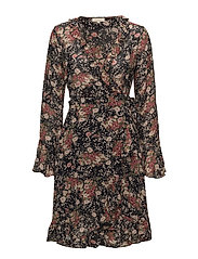 Semi Couture Wrap Dress - 760 ASIAN GARDEN