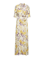 Wrap Gown - 747 WILD FOREST