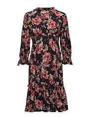 Printed Day Dress - 749 ROSE TAPESTRY