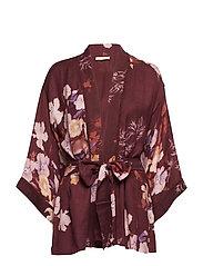 Wool Robe - 734 BOUQUET