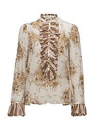 Delicate Semi Couture Shirt - 501 VINTAGE GARDEN