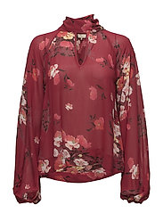 Semi Couture BowTie Blouse - 568 WINTER GARDEN