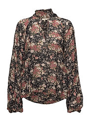 Semi Couture BowTie Blouse - 760 ASIAN GARDEN