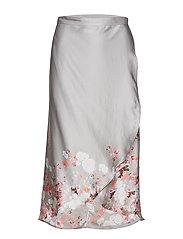 Patchwork Wrap Skirt - 818 SPRING FLING