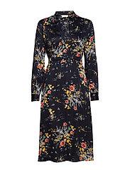 Satin Bowtie Dress - 814 GARDENS