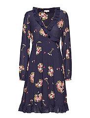 Bohemian Wrap Dress - 803 BELLA BOUQUET