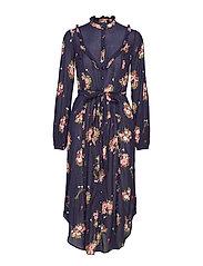 Bohemian Shirt Dress - 803 BELLA BOUQUET