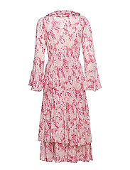 Thin Semi Flounce Dress