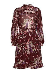 Semi Couture Smocking Dress - 790 VIOLA