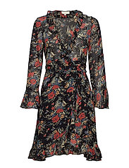 by Ti Mo Semi Couture Wrap Dress - 786 BOUQUET