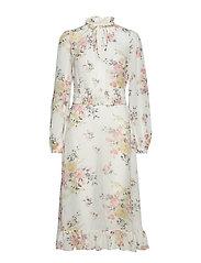 Semi Couture A-Line Midi Dress - 823 CYPRESS