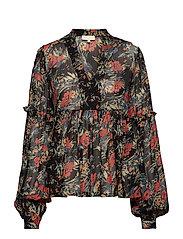 Semi Couture Blouse - 786 BOUQUET