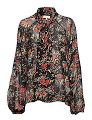 Semi Couture Bow Blouse - 786 BOUQUET
