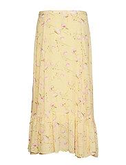 by Ti Mo - Delicate Semi Skirt - midi skirts - yellow poppy - 1