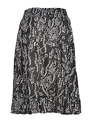 by Ti Mo - Festival Skirt - midi skirts - straws - 1