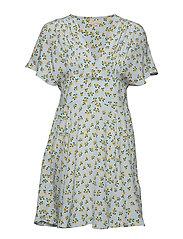 by Ti Mo Smocking Mini Dress