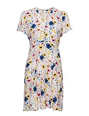 50s Dress - FLORA WHITE