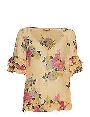 Semi Couture Frill Top - LILACS