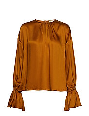 Satin Blouse - MAPLE