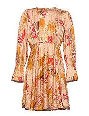 Satin Mini Dress - TOKYO DREAM