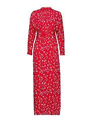 Gathers Gown - RED GARDEN