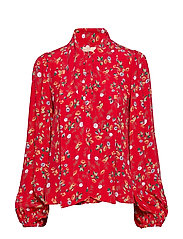 by Ti Mo Bow Blouse - RED GARDEN