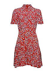 Summer Mini Shirt Dress - JOYFUL