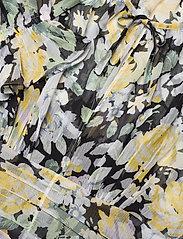 by Ti Mo - Chiffon Plisse Mini Dress - sommerkjoler - blooming - 3
