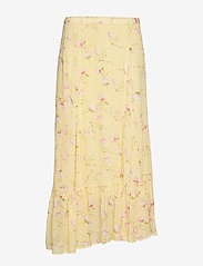 by Ti Mo - Delicate Semi Skirt - midi skirts - yellow poppy - 0