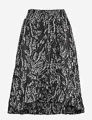 by Ti Mo - Festival Skirt - midi skirts - straws - 0