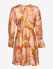 by Ti Mo - Satin Mini Dress - krótkie sukienki - tokyo dream - 1