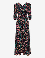 Pre Spring Rouch Dress - BUTTERFLY