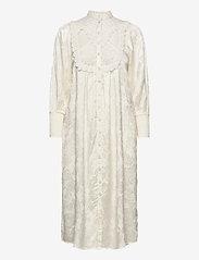 Jacquard Lace Shift Dress - VINTAGE