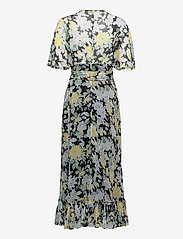 by Ti Mo - Chiffon Plisse Gown - sommerkjoler - blooming - 1