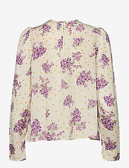 by Ti Mo - Delicate Top - langærmede bluser - sunny flowers - 1