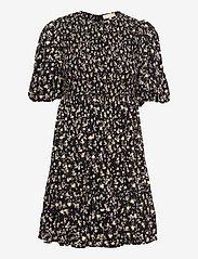 by Ti Mo - Smocking Puffed Mini Dress - sommerkjoler - blossom - 0