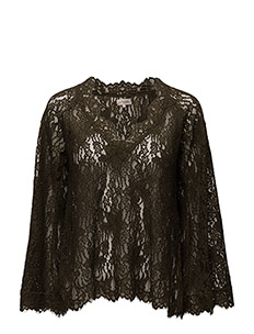 Lace Flared Top - BOTTLE